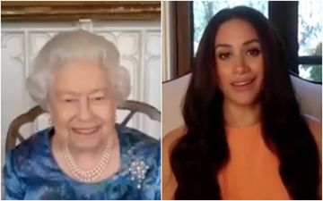 Queen Elizabeth Lands In Los Angeles For A 'Tense Showdown With Meghan Markle?' - Truth UNFOLDS Here
