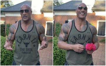 Dwayne Johnson 'The Rock' Raises A Toast To His Mom As They Whip Up Their Favourite Boozy Cocktail On Mother's Day
