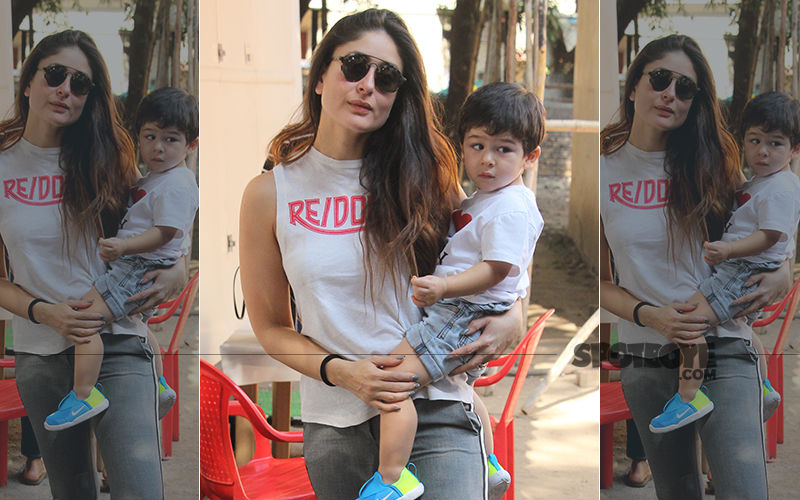 These 7 Pictures Of Taimur With Mommy Kareena Kapoor Khan Will Brighten Your Friday Evening