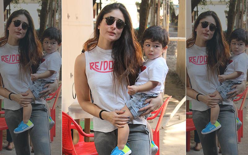 मम्मी करीना कपूर खान के साथ दिखे नन्हे तैमूर, तस्वीरें देख आप कह उठेंगे वाह!