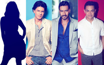 This Actress Wants Shah Rukh Khan & Ajay Devgn  As Classmates But Not Aamir Khan