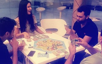 Aditya Chopra Secretly Clicks Katrina Kaif Amidst A Game Of Cards
