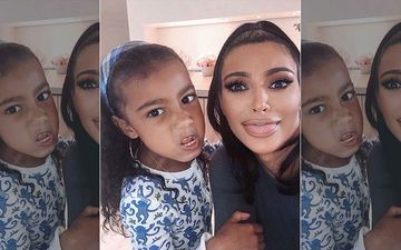 Kim Kardashian Reveals Her 6-Year-Old Daughter North Has A TikTok Account, But She's Not Allowed To Post