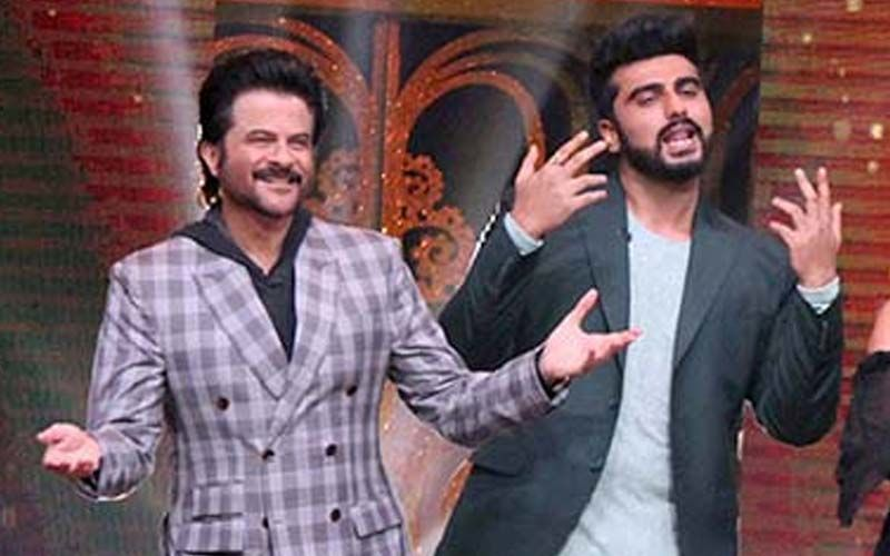 Throwback Thursday: Arjun Kapoor Shares his 34-year journey with Anil Kapoor's Famous Dhina Dhin Da Step