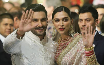Love Makes The World Go Round, Here Comes Ranveer With His Darling Deepika To Isha Ambani-Anand Piramal Wedding