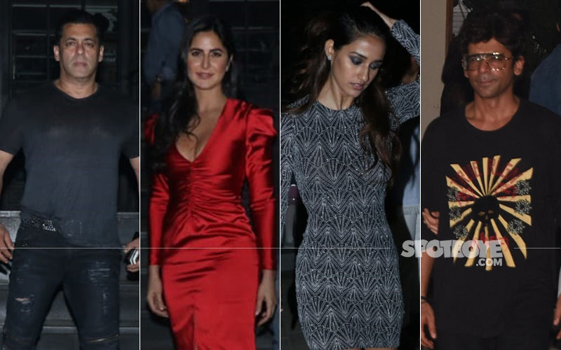 Bharat Stars Salman Khan, Katrina Kaif, Disha Patani, Sunil Grover Catch Up For Dinner!