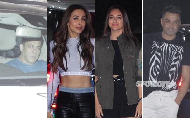 Sohail Khan's Son's Birthday Bash Saw Salman Khan, Malaika Arora, Sonakshi Sinha, Bobby Deol In Attendance
