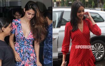 Tiger Shroff, Disha Patani And Ananya Panday Head Out For Lunch On A Rainy Sunday