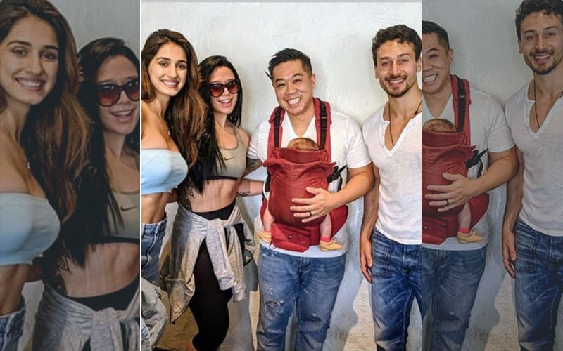 Disha Patani Is Now A Part Of Tiger Shroff's 'FamJam'