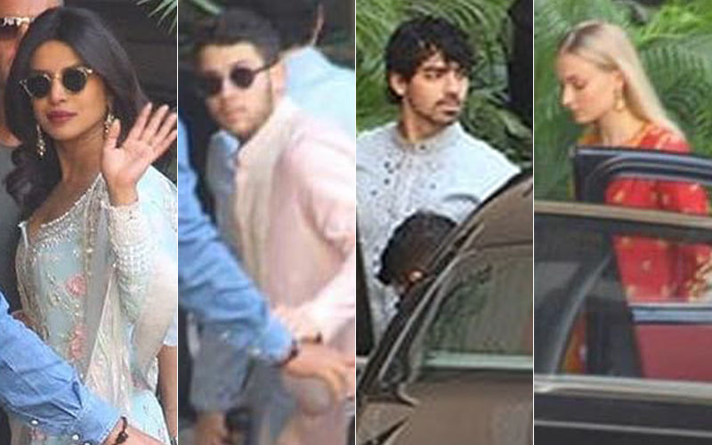 Priyanka Chopra-Nick Jonas Wedding: Festivities Kick-Start. Sophie Turner And Joe Jonas Turn Desi For Puja