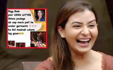 Bigg Boss 12: Shilpa Shinde Mocks Teejay Sidhu By Posting Karanvir Bohra's Pictures With Undergarments; Gets Trolled Instead