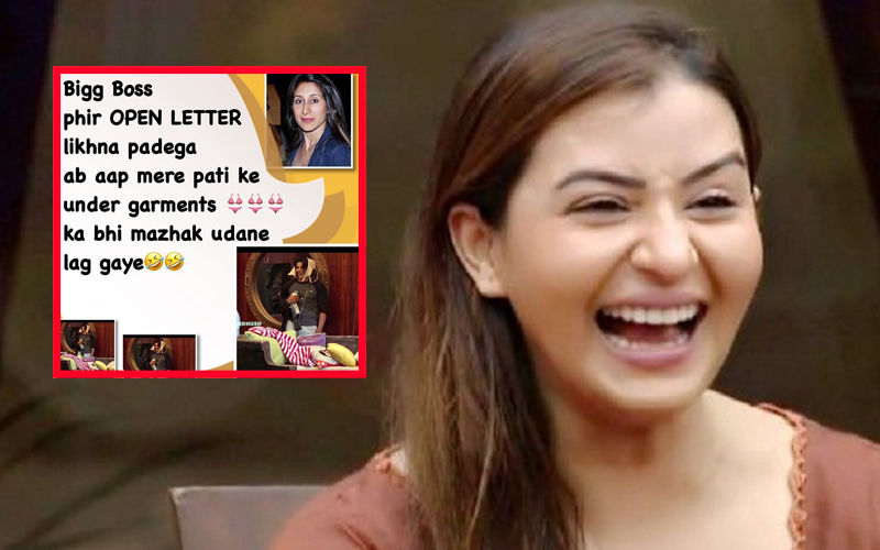 Bigg Boss 12: Shilpa Shinde Mocks Teejay Sidhu By Posting Karanvir Bohra's Pictures With Undergarments; Gets Trolled Instead