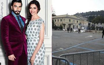 Ranveer Singh-Deepika Padukone Wedding: And The Preparations Begin In Italy- INSIDE PIC