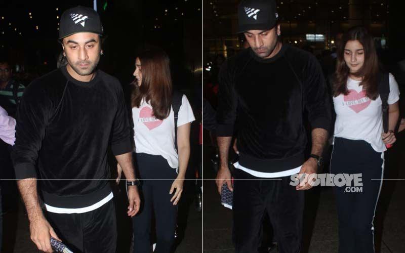 Alia Bhatt And Ranbir Kapoor Back From Their Getaway In New York