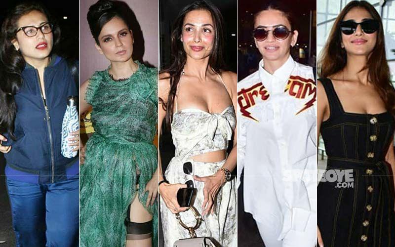 STUNNER OR BUMMER: Rani Mukerji, Kangana Ranaut, Malaika Arora, Kriti Kharbanda Or Vaani Kapoor?