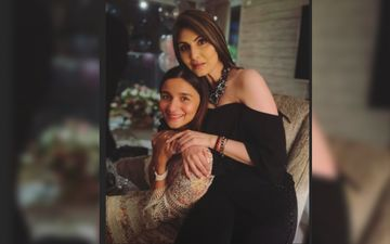 Alia Bhatt Gives A Big Tight Hug To Beau Ranbir Kapoor's Sister Riddhima As She Makes A Lovely Birthday Wish For Her