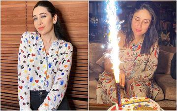 Karisma Kapoor Shares Some 'Precious Moments With Birthday Girl' Kareena Kapoor Khan As She Cuts A 'Wonder Woman' Cake