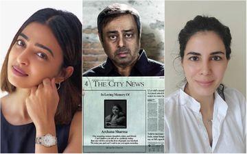 Why Are Radhika Apte, Kirti Kulhari, Aahana Kumra And Angira Dhar Posting About Dr.Sharma's Daughter?
