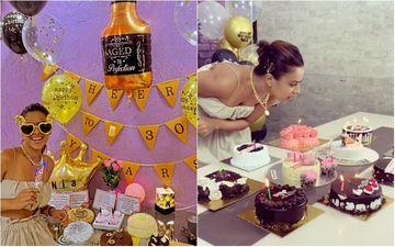 Naagin 4 Star Nia Sharma Turns 30; Actress Is Loaded With Cakes And Gifts; Says: 'Fills My Eyes And Heart With Pride'