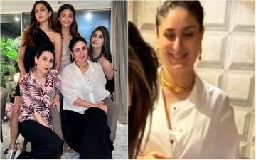 Kareena Kapoor Khan Keeps It Simple In A White Button-Down Shirt And Mama Trousers At Riddhima Kapoor's 40th Birthday Party