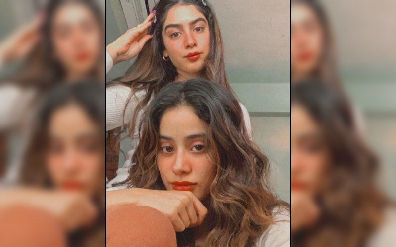 Janhvi Kapoor Getting A 'Unique And Special' Face Massage From Sister Khushi Kapoor Will Make You Believe They Are One Of Us