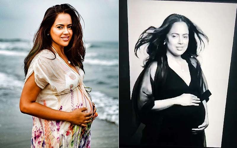 Pregnant Sameera Reddy Does A Maternity Photoshoot, Flaunts Her Baby Bump In The Most Adorable Manner