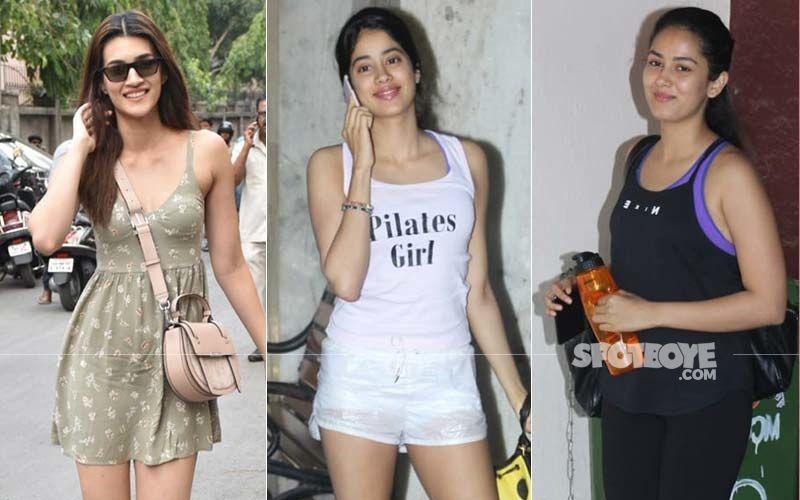 Celeb Spotting: Kriti Sanon, Janhvi Kapoor Or Mira Rajput- Which Diva Rocked The Tuesday Look?