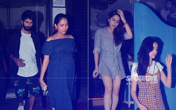 Mira Rajput-Shahid Kapoor's Loved-Up Dinner Date; Sara Ali Khan And Ananya Panday's Girly Night Out: Tuesday Night In Pics