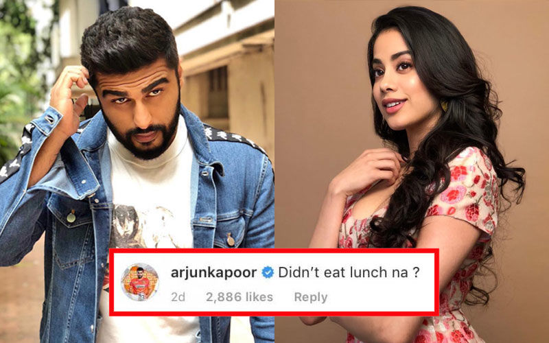 Arjun Kapoor's Troll Attempt At Janhvi Kapoor Falls Flat, She Has A Savage Reply