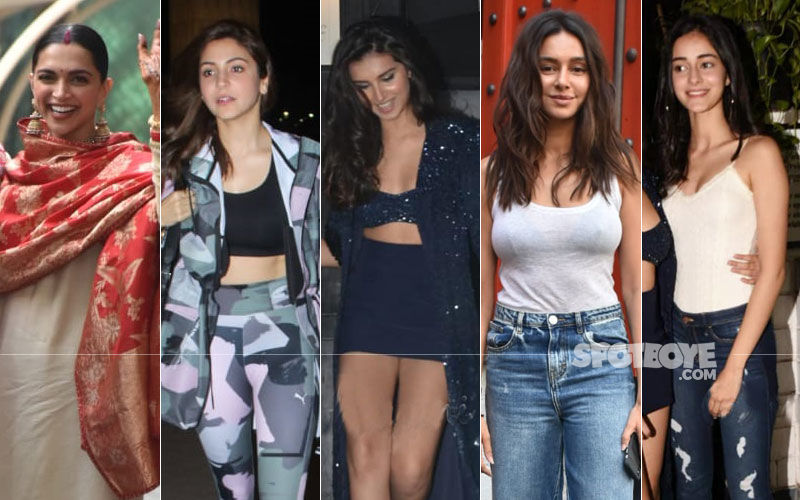 STUNNER OR BUMMER: Deepika Padukone, Anushka Sharma, Tara Sutaria, Shibani Dandekar Or Ananya Panday?