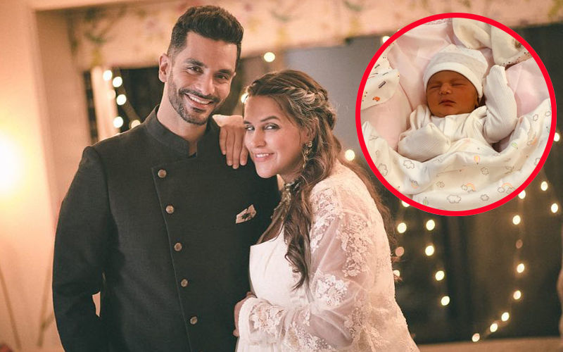 Meet Neha Dhupia And Angad Bedi's Li'l Princess, Mehr