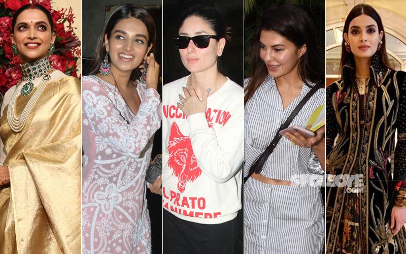 STUNNER OR BUMMER: Deepika Padukone, Nidhhi Agerwal, Kareena Kapoor Khan, Jacqueline Fernandez Or Diana Penty?