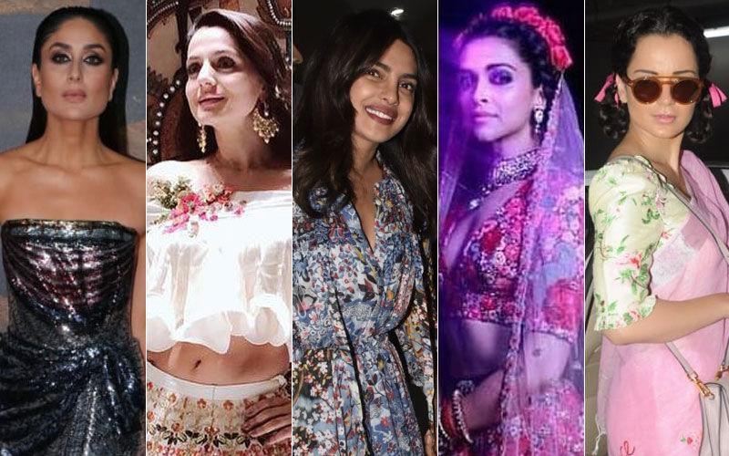 STUNNER OR BUMMER: Kareena Kapoor Khan, Ameesha Patel, Priyanka Chopra, Deepika Padukone Or Kangana Ranaut?