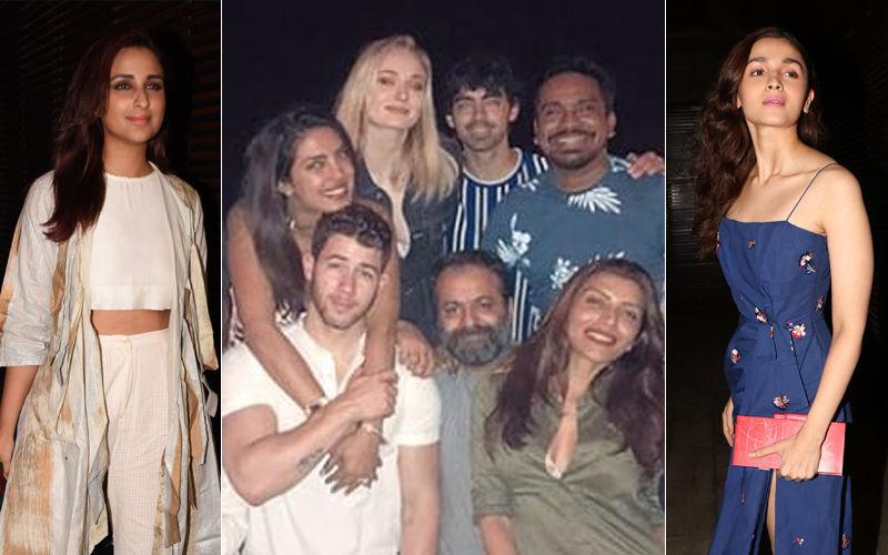 Priyanka Chopra-Nick Jonas Dine With Joe Jonas-Sophie Turner, Alia Bhatt, Parineeti Chopra & Friends