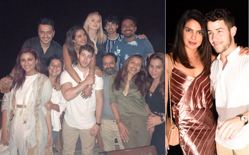 Priyanka Chopra's pre-wedding dinner: Who wore what