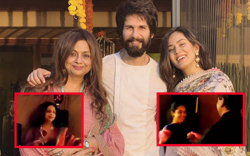 Saas-Bahu Duo, Mira Rajput And Neelima Azim Groove To Hindi Old Classics- Watch Video