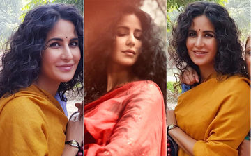 Katrina Kaif Flaunts Her Curls Like A Boss - Click To See Bharat On Set Pictures