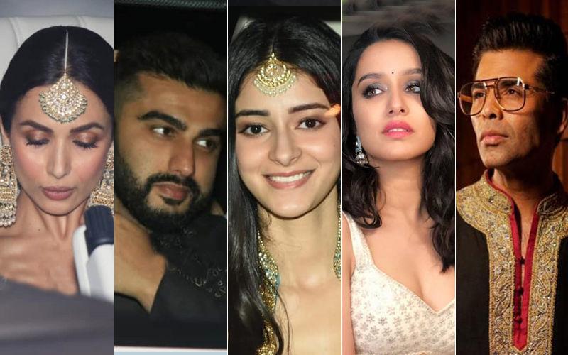 Abu Jani-Sandeep Khosla's Diwali Bash: Malaika Arora And Arjun Kapoor Party Together; Ananya Panday, Shraddha Kapoor, Karan Johar Join In