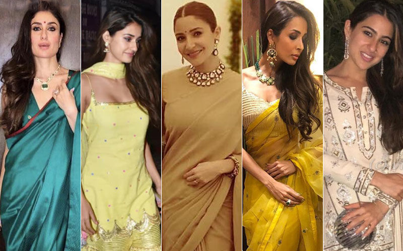 BEST DRESSED & WORST DRESSED This Diwali: Kareena Kapoor Khan, Disha Patani, Anushka Sharma, Malaika Arora Or Sara Ali Khan?