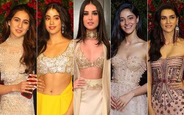 BEST DRESSED & WORST DRESSED At DeepVeer's Bollywood Party: Sara Ali Khan, Janhvi Kapoor, Tara Sutaria, Ananya Panday Or Kriti Sanon?