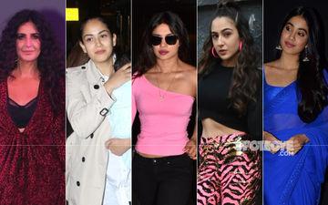 STUNNER OR BUMMER:  Katrina Kaif, Mira Rajput, Priyanka Chopra, Sara Ali Khan Or Janhvi Kapoor?
