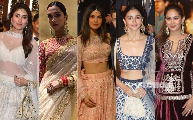 BEST DRESSED & WORST DRESSED At Isha Ambani-Anand Piramal Wedding: Kareena Kapoor Khan, Mira Rajput, Priyanka Chopra, Deepika Padukone, Alia Bhatt?