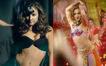 Elli AvrRam Turns Up The Heat With Her Sultry Dance Steps On Chamma Chamma Remake