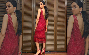 """Fans Upset With Deepika Padukone. """"Red Again, Boring Hairdos, Inappropriate Outfit""""- Netizens' Complaints"""