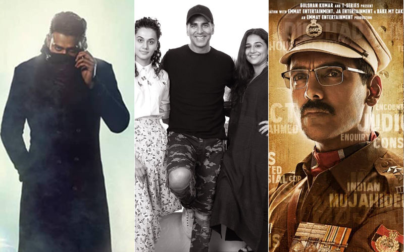 Prabhas' Saaho Vs John Abraham's Batla House Vs Akshay Kumar's Mission Mangal On Independence Day 2019