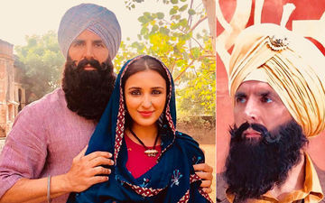 Akshay Kumar-Parineeti Chopra Unleash Their Rustic Look From Kesari
