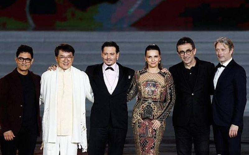 Aamir Khan, Jackie Chan, Johnny Depp Add Star Power To Hainan International Film Festival's Closing Ceremony