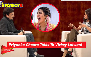 Here's Priyanka Chopra's Candid Interview With SpotboyE.com Editor Vickey Lalwani