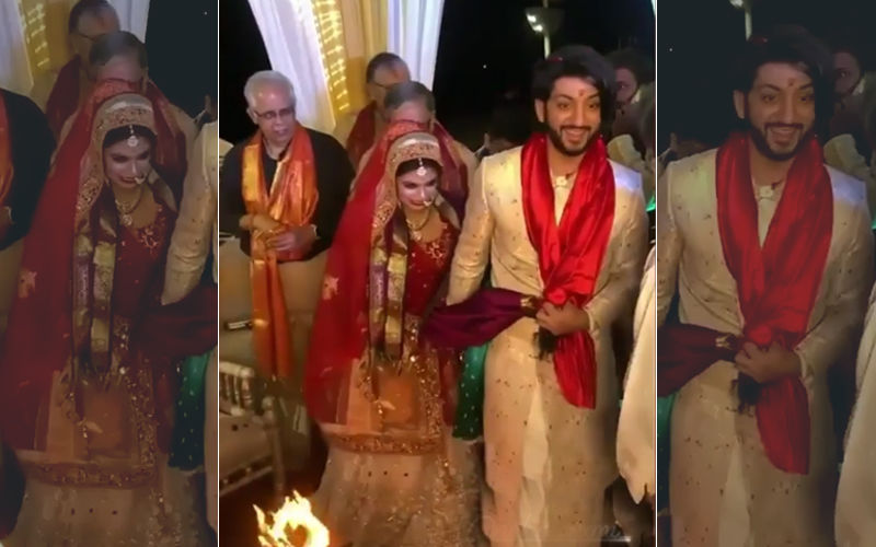 Kunal Jaisingh-Bharati Kumar Are Now Man And Wife –Watch Videos Of Pheras