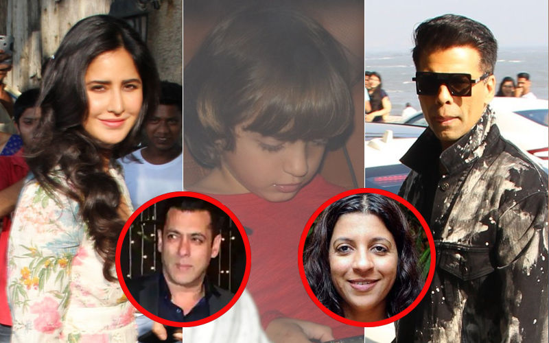 Katrina Kaif, Karan Johar, Little AbRam And Many Others Dash Off To Salman Khan And Zoya Akhtar's Christmas Parties